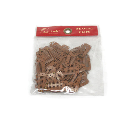 1st Lady Weaving clip (10feet) 50pcs