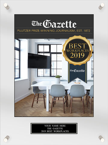 Best Workplaces 2019 Acrylic Plaque