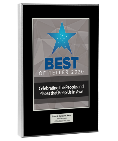 Best of Teller 2020 Wood Plaque
