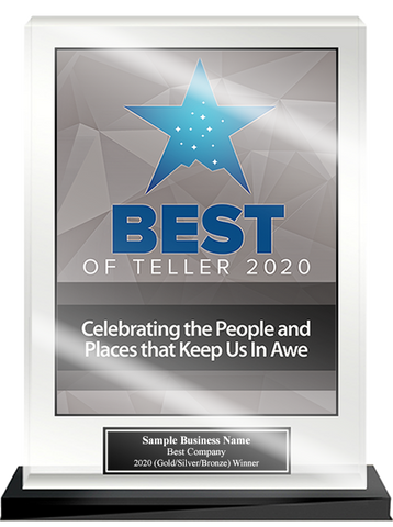Best of Teller 2020 Acrylic Desktop Award