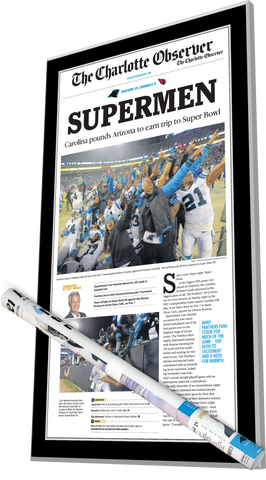 Plaque and Poster Bundle - 2016 NFC Championship
