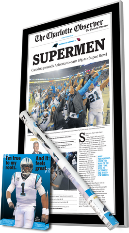 Plaque, Crystal, and Poster Bundle - 2016 NFC Championship