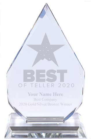 Best of Teller 2020 Engraved Diamond Award