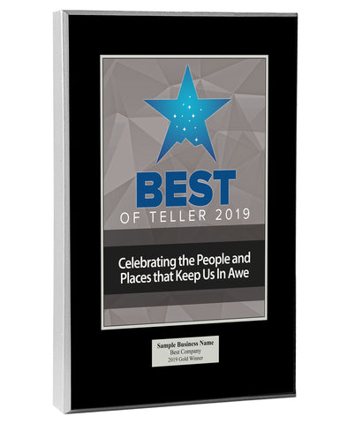 Best of Teller Wood Plaque
