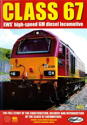 Class 67: EWS' High-speed GM Diesel Locomotive