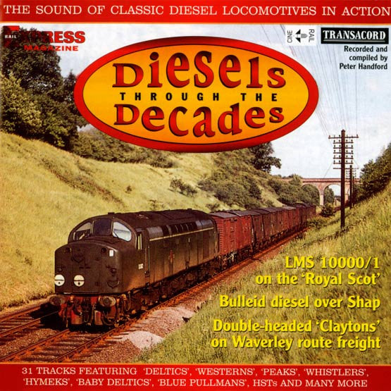 Diesels Through the Decades (Audio CD)