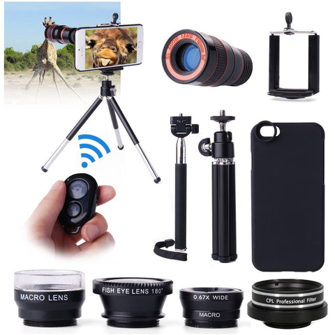 All in 1 Accessories Phone Lens Top Travel Kit For iPhone 6 4.7""