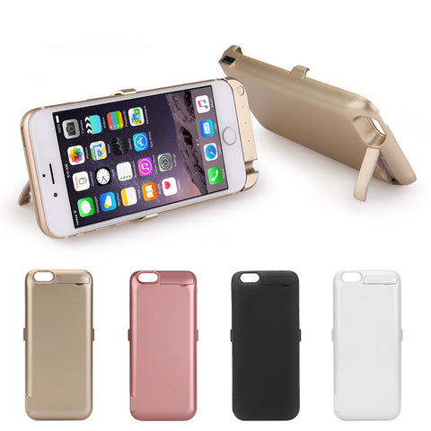 10000mAh External Battery Charger Case Cover Power Pack for Apple iPhone 6, 6S, 7