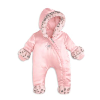 American Girl Bitty Baby - Little Leopard Snowsuit for Dolls - Bitty Baby 2015