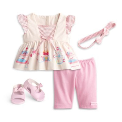 American Girl Bitty Baby - Pastel Carousel Outfit for dolls  - Bitty Baby 2015