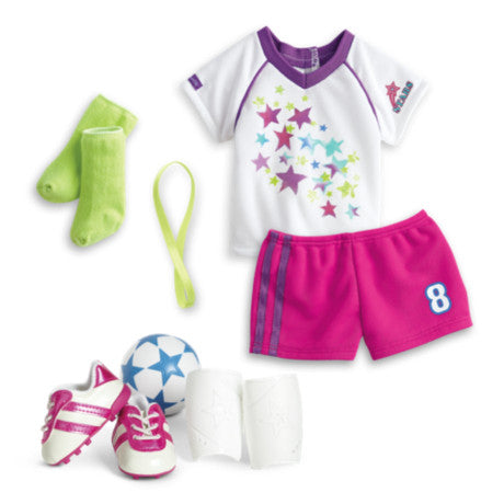 American Girl - Soccer Team Outfit for Dolls - Truly Me 2015