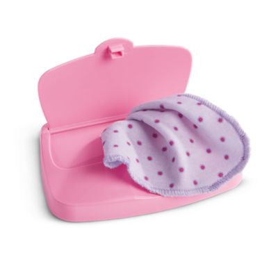 American Girl Bitty Baby - Bitty's Wipe Case for Dolls - Bitty Baby 2015