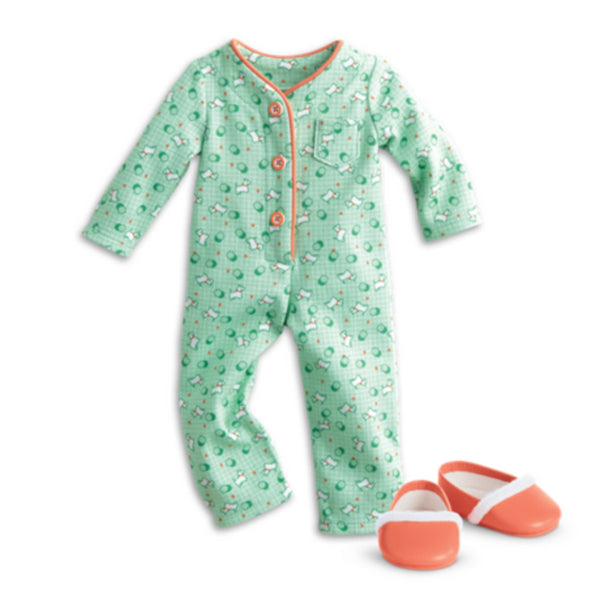 American Girl - Kit's One-Piece Pajamas - Truly Me 2015