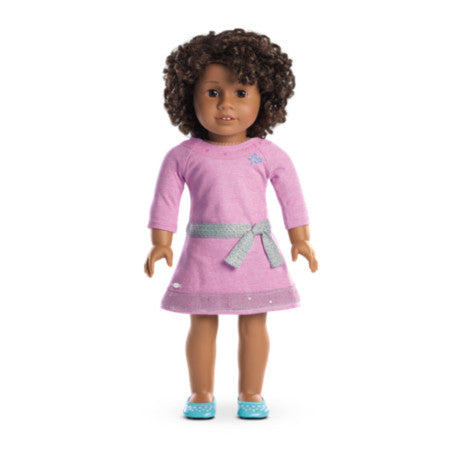 American Girl - Truly Me™ Doll: Dark Skin, Curly Dark Brown Hair, Brown Eyes DN58