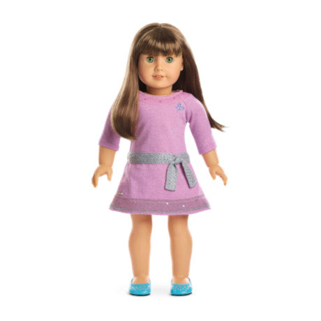 American Girl - Truly Me™ Doll: Light Skin, Brown Hair with Bangs, Green Eyes DN19