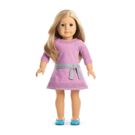 American Girl - Truly Me™ Doll: Light Skin, Layered Blond Hair, Blue Eyes DN27