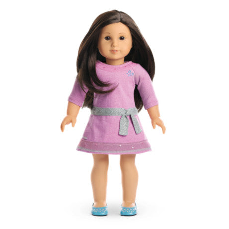American Girl - Truly Me™ Doll: Light Skin, Layered Black-Brown Hair, Brown Eyes DN30