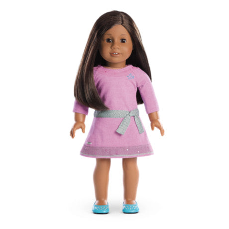 American Girl - Truly Me™ Doll: Dark Skin, Textured Dark Brown Hair, Brown Eyes DN31