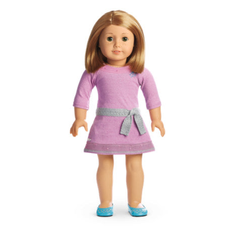 American Girl - Truly Me™ Doll: Light Skin with Freckles, Short Red Hair, Green Eyes DN37