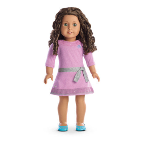 American Girl - Truly Me™ Doll: Medium Skin, Curly Dark Brown Hair, Hazel Eyes DN44