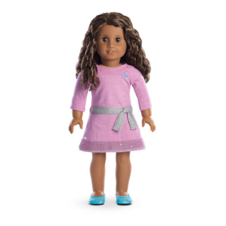 American Girl - Truly Me™ Doll: Dark Skin, Curly Dark Brown Hair, Brown Eyes DN46