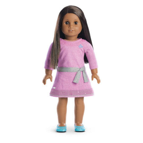 American Girl - Truly Me™ Doll: Dark Skin, Dark Brown Hair, Brown Eyes DN47