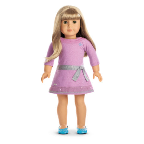 American Girl - Truly Me™ Doll: Light Skin, Blond Hair with Bangs, Green Eyes DN52