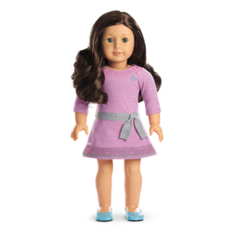 American Girl - Truly Me™ Doll: Light Skin, Freckles, Dark Brown Hair, Hazel Eyes DN55