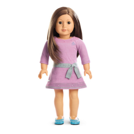 American Girl - Truly Me™ Doll: Light Skin, Layered Brown Hair, Brown Eyes DN59