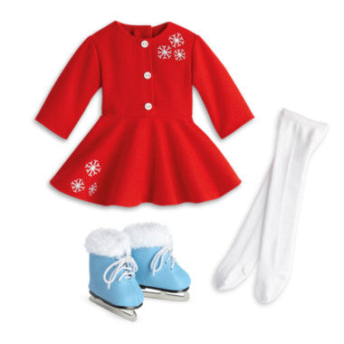 American Girl - Beforever Maryellen - Maryellen's Ice Skating Outfit for Dolls