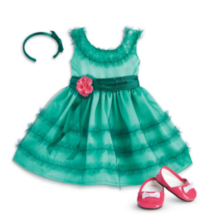 American Girl - Beforever Maryellen - Maryellen's Birthday Dress for Dolls