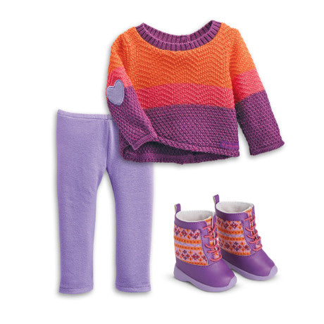 American Girl - Warm Winter Outfit for Dolls for Dolls - Truly Me 2015