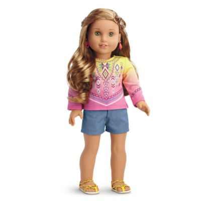 American Girl - Lea Clark - Lea's Bahia Outfit for Dolls for Dolls - American Girl of 2016