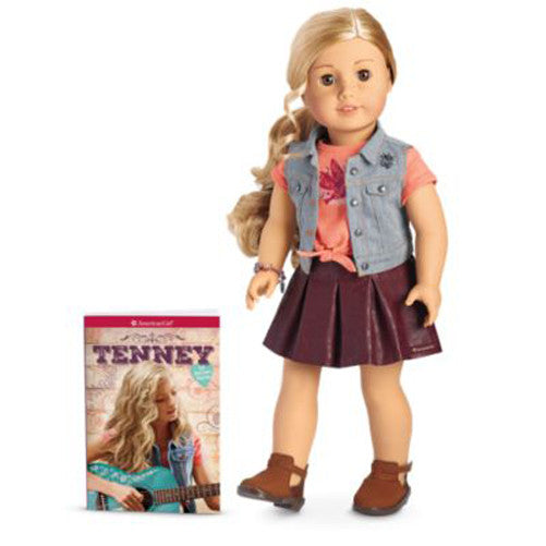 American Girl Tenney Doll and Paperback Book