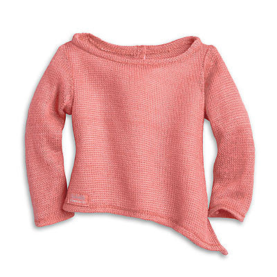 American Girl Isabelle - Isabelle's Coral Sweater - American Girl of 2014