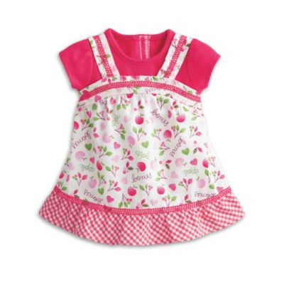 American Girl Bitty Baby - Pretty Picnic Outfit for Dolls - Bitty Baby 2015