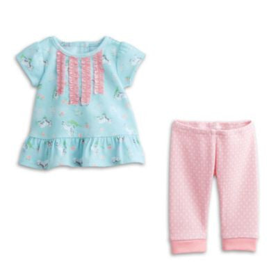 American Girl Bitty Baby - Bitty Lambie PJ's for dolls  - Bitty Baby 2015