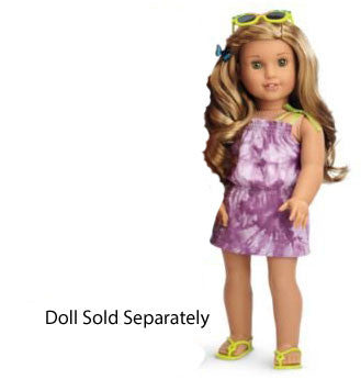 American Girl - Lea Clark - Lea'a Beach Dress for Dolls - American Girl of 2016