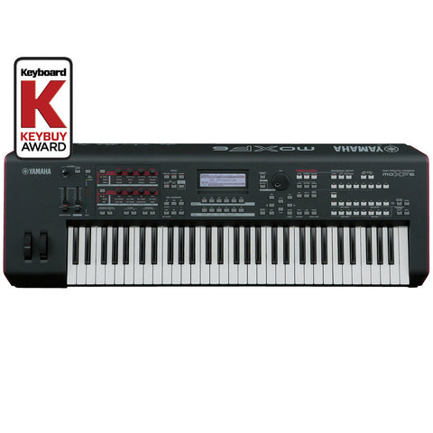 Yamaha MOFX6 61-Key Synthesizer Workstation