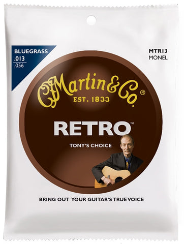 Martin Monel Artist Choice Tony Rice Signature Acoustic Guitar Strings - Set of 4