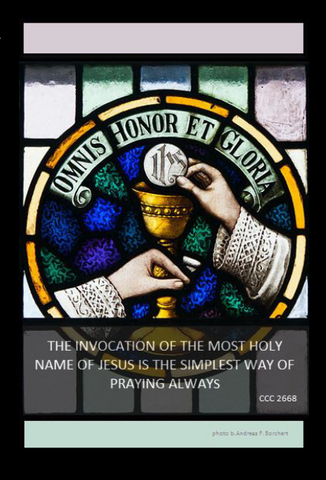 152-100 The Way of the Holy Name Prayer Card (Pack of 100)