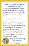 154-100 Petition In His Name Prayer Card (Pack of 100)