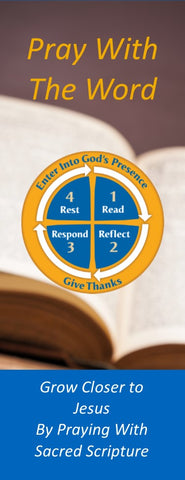 161-25 Pack of 25 Pray With The Word Bookmarks