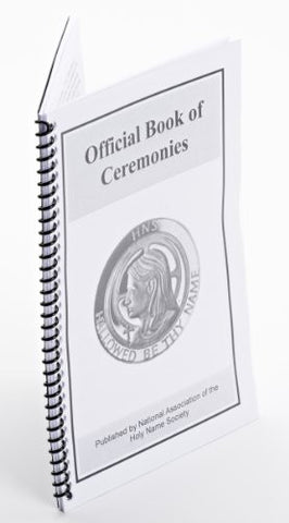 118 Official Book of Ceremonies - Coil Bound