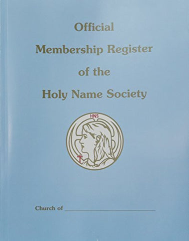 708 Holy Name Enrollment Register