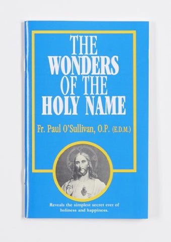 127-E Wonders of the Holy Name - English