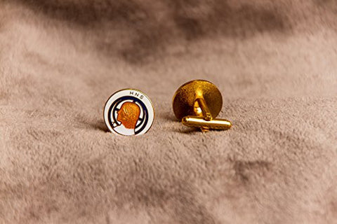 1001 HNS Enamel Cuff Links