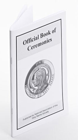 118 Official Book of Ceremonies - Stapled