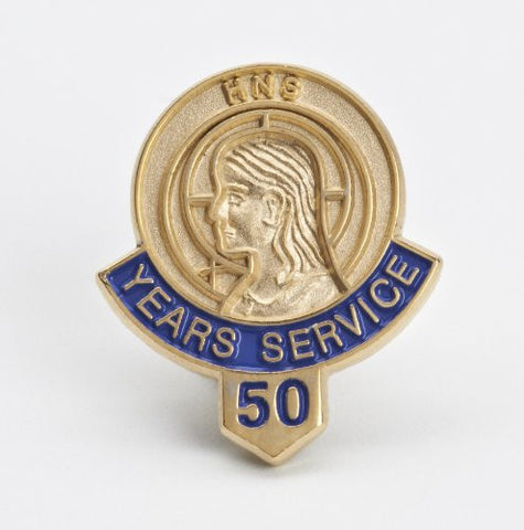 512 50 Year Service/Member Button