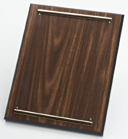 618 Walnut Plaque with Plexiglas Cover, for framing item # 603 or 605